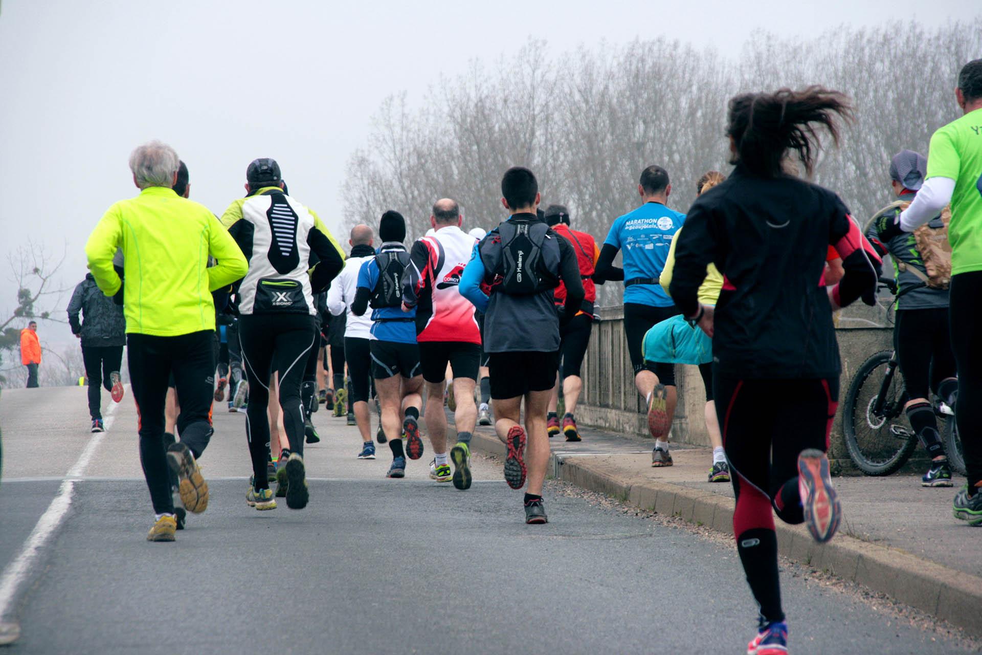La 12 km<br>de Saint-Bernard