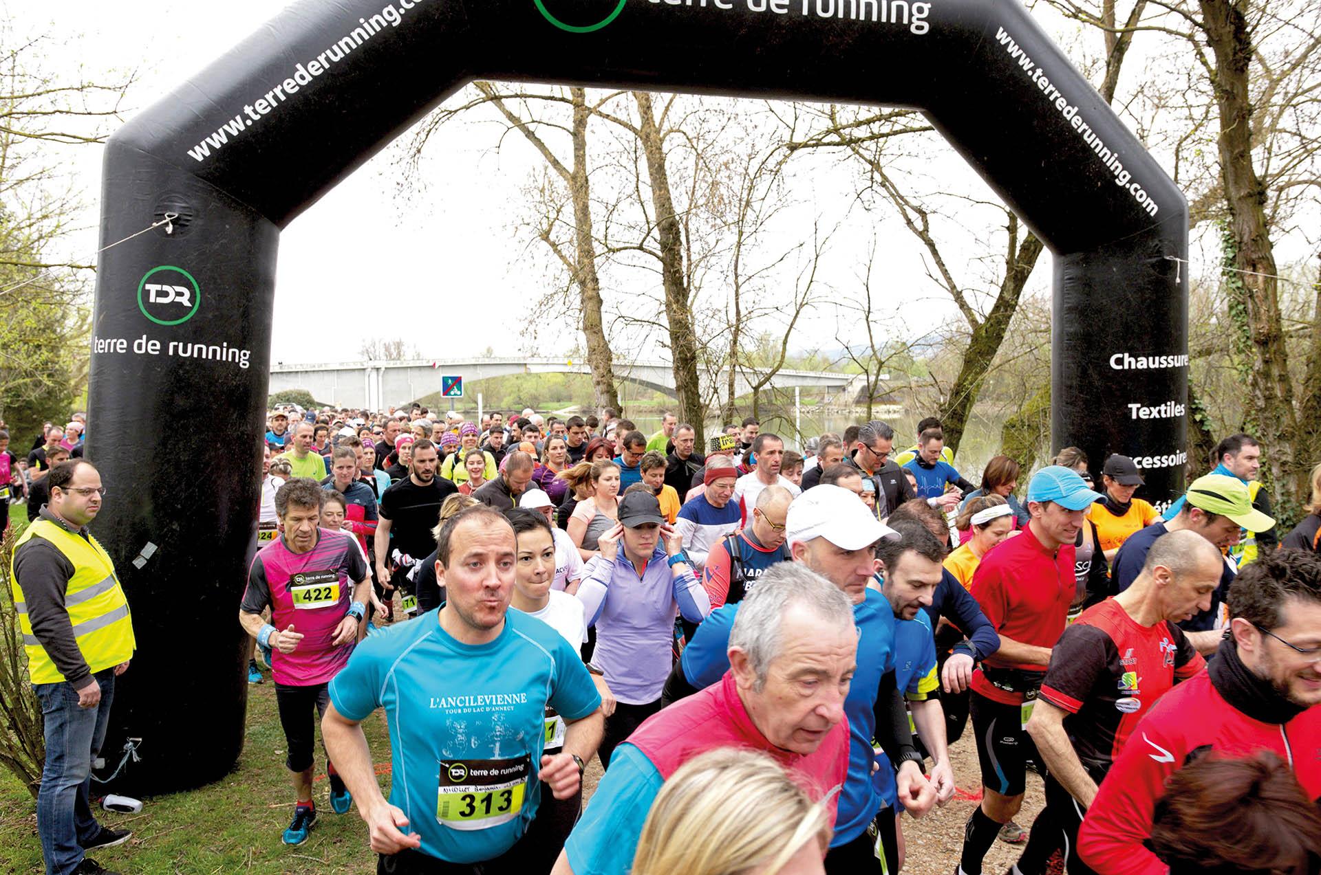 Le Semi-marathon<br>de la Saône